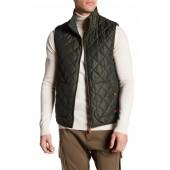 Lightly Padded Logo Reversible Vest