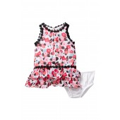 blooming floral dress & bloomers set (Baby Girls)