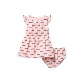 hot rod dress & bloomers set (Baby Girls)