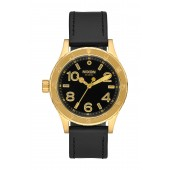 Mens 38-20 Leather Watch, 44mm