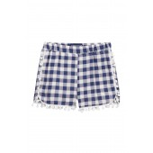 Check Woven Shorts (Toddler & Little Girls)