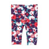 Floral Print Leggings (Baby Girls)
