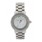 Womens Crystal Embellished Watch, 42mm