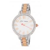 Womens Bedazzled Crystal Embellished Bracelet Watch, 38mm