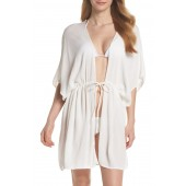 Open Front Cover-Up Caftan