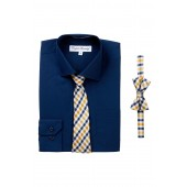 Dress Shirt & Ties Set (Big Boys)