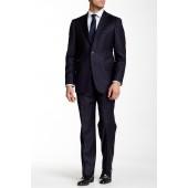 Notch Lapel Classic Fit Wool Suit