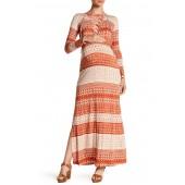 Printed Jolene Dress (Maternity)