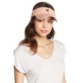 Faded Flamingo Embroidered Visor