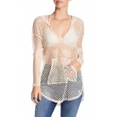 Nice Catch Fishnet Cover-Up