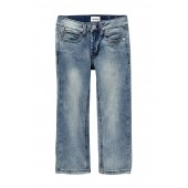 French Terry Slim Straight Jeans (Little Boys)