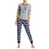 Smart Kitty 2-Piece Pajama Set