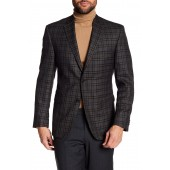 Classic Fit Checkered Wool Sportcoat