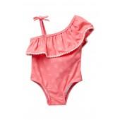 One-Piece Swimsuit (Baby Girls 0-9M)