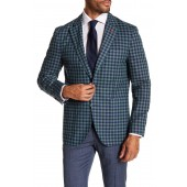 Alonzo Checkered Notch Collar Sport Jacket