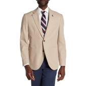 Bekele Linen Notch Collar Long Sleeve Jacket