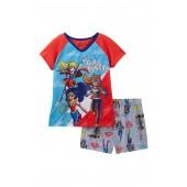 Superhero Girls Short Pajama Set (Little Girls & Big Girls)