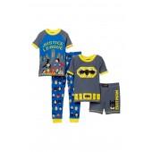 Justice League 4-Piece Cotton Set (Toddler Boys)