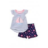 Sailboat Short Pajama (Toddler Girls)