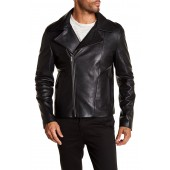 Clean Leather Moto Jacket