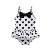 Black and White Swimsuit (Baby Girls)
