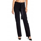 Sash Belt Relaxed Jeans
