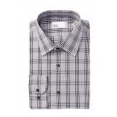 Plaid Traditional Fit Dress Shirt