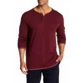 Long Sleeve Knit Solid Shirt