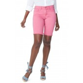 Briella Frayed Hem Bermuda Shorts