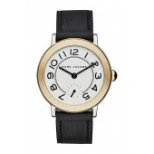 Womens Riley Leather Watch, 36mm