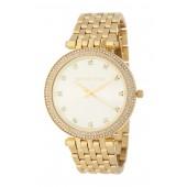 Womens Darci Crystal Pave Bracelet Watch