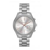 Womens Slim Runway Stainless Steel Bracelet Watch, 42mm