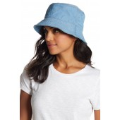 Two-Tone Denim Bucket Hat