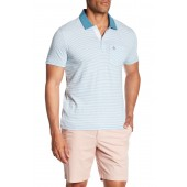 Feeders Stripe Short Sleeve Polo
