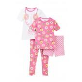 Donut Sweet Dreams Cotton PJs - Set of 2 (Toddler Girls)