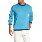 Cooperstown Long Sleeve Crew Neck Wool Sweater