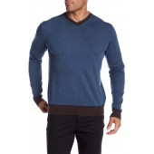 Rochester V-Neck Knit Sweater