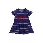 Embroidered Stripe Top (Baby Girls)