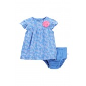 2-Piece Dress Set (Baby Girls)