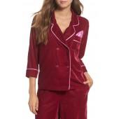 Velvet Pajama Top