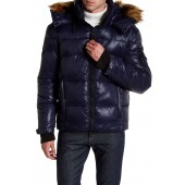 Stowe Quilted Faux Fur Hood Parka