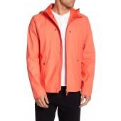 Short Hooded Raincoat