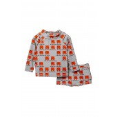 Cub In The Hub Two-Piece Rashguard Swimsuit (Baby Boys)