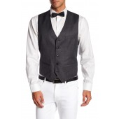 Troy Trim Fit Solid Wool Vest