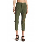 Gretha Embroidered Cropped Pant