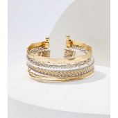 Mixed Media Cuff Bracelet