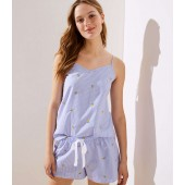Lemon Cami Pajama Set