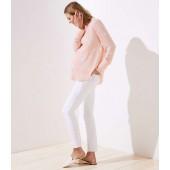 Petite Maternity Modern Skinny Jeans in White
