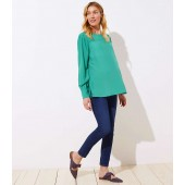 Maternity Modern Slim Pocket Skinny Crop Jeans in Authentic Dark Indigo Wash