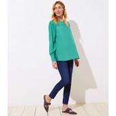 Petite Maternity Modern Slim Pocket Skinny Crop Jeans in Authentic Dark Indigo Wash